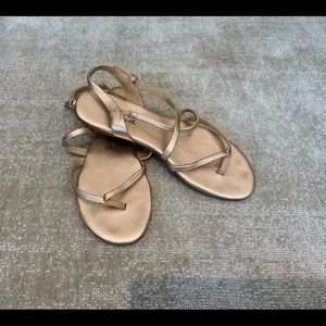 SPLENDID TAN STRAPPY SANDALS SZ 7 1/2